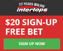 Intertops $20 Free